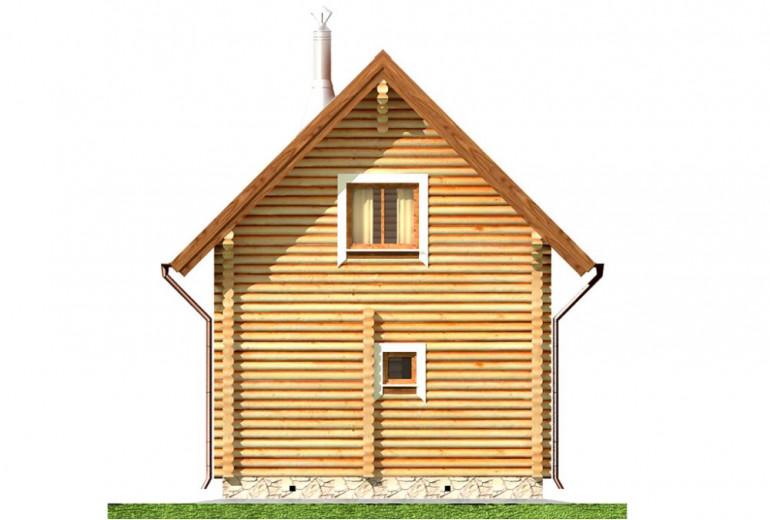 Дом из бревна 79