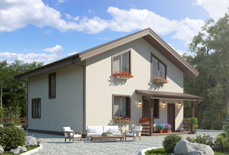 Дом из камня 131,1