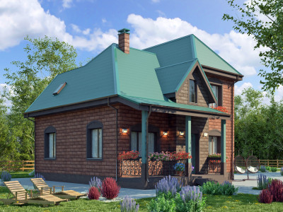 Дом из камня 134,9