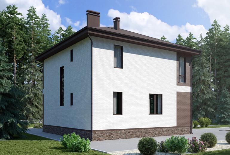 Дом из камня 145,7