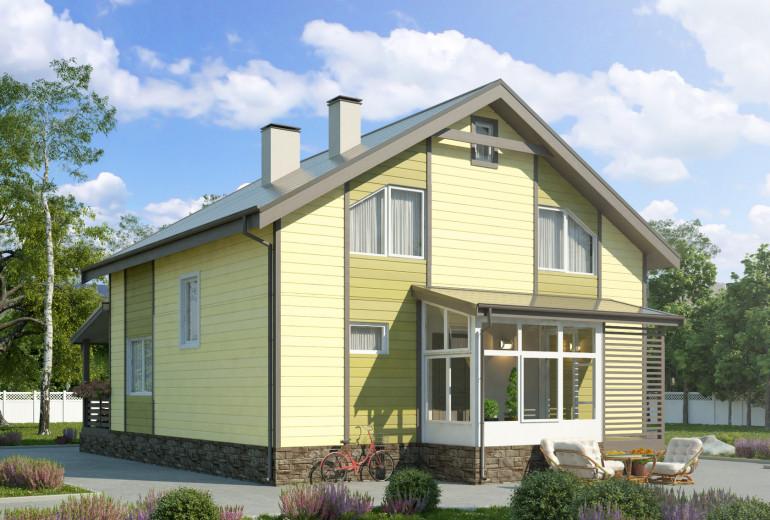Дом из камня 147