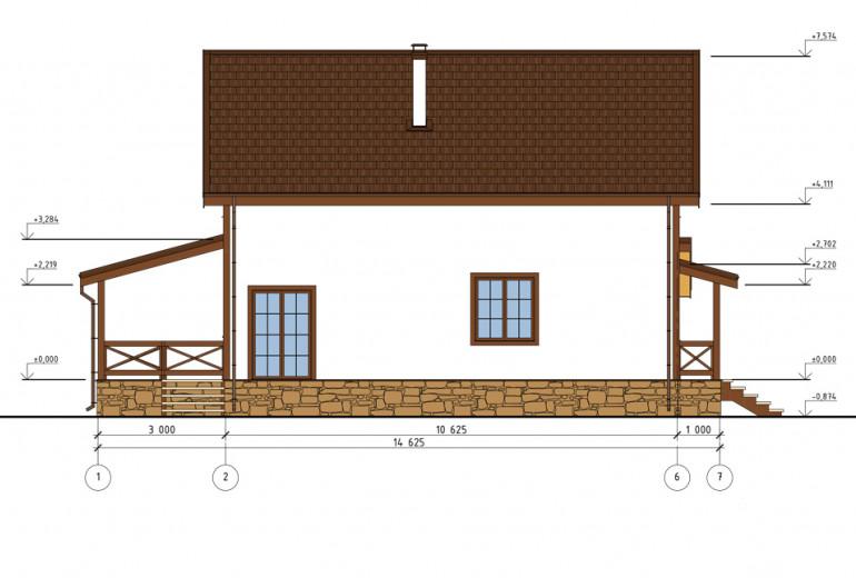 Дом из камня 171,8