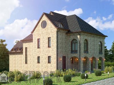 Дом из камня 443