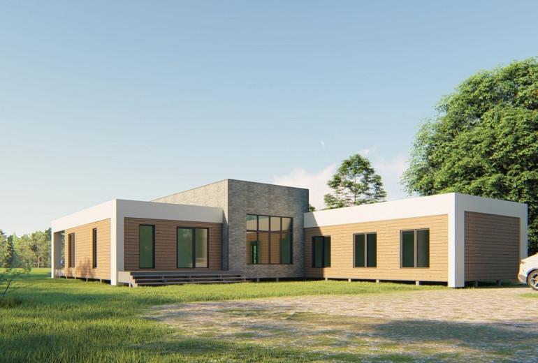 Дом из камня 200-2