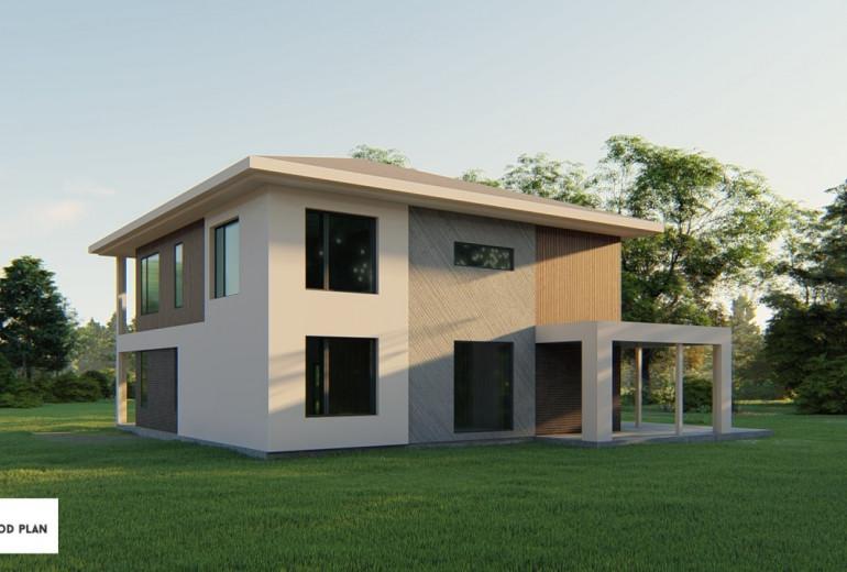 Дом из камня 250-2