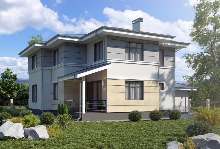 Дом из камня 170,6