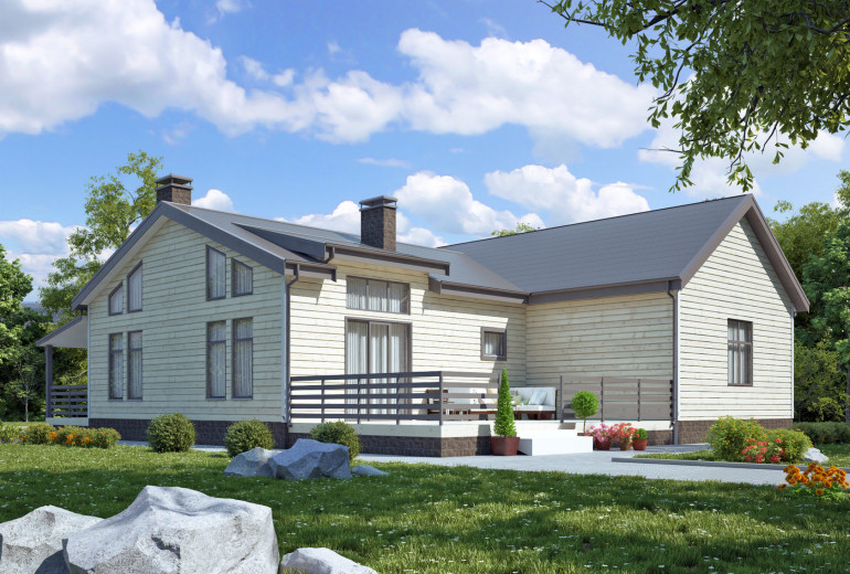 Дом из камня 158,8