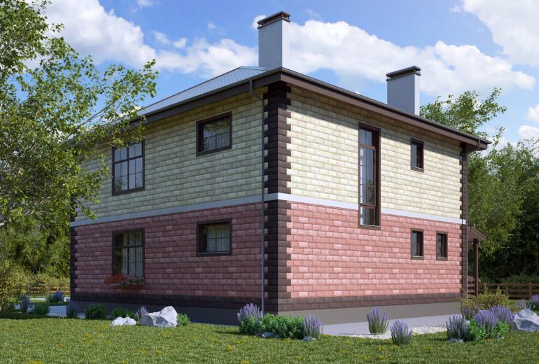 Дом из камня 228,4