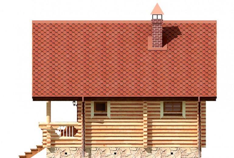 Дом из бревна 95