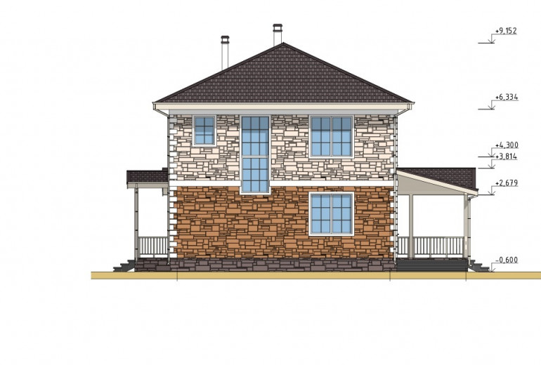 Дом из камня 191,1